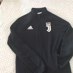 Adidas Boys Zip Top - Juventus